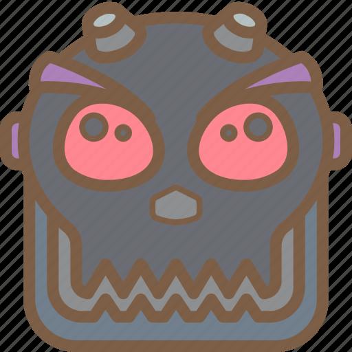 avatars, bot, droid, punk, robot icon