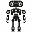 auto, automation, cyborg, humanoid, machine, mechanical, robot icon
