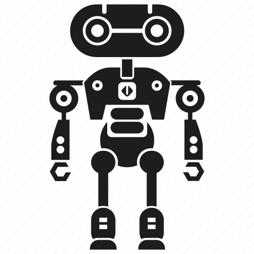 auto, automation, cyborg, humanoid, machine, mechanical, robot icon