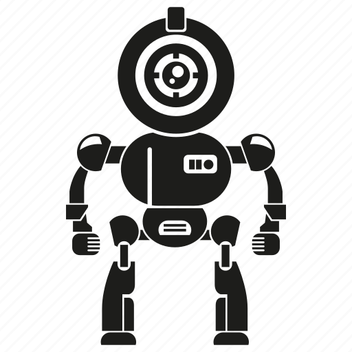 artificial intelligence, auto, automation, character, humanoid, machine, robot icon