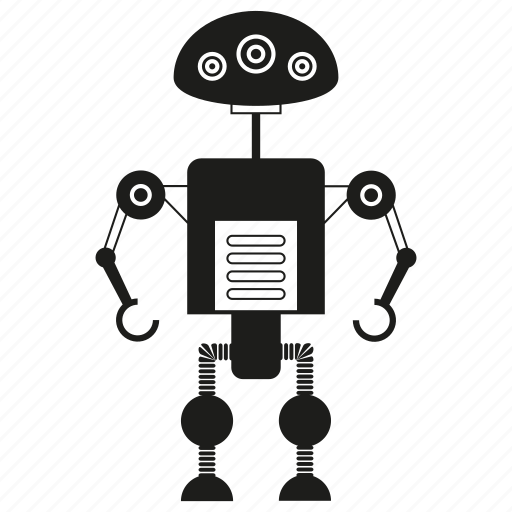 artificial intelligence, auto, automation, character, humanoid, mechanical, robot icon