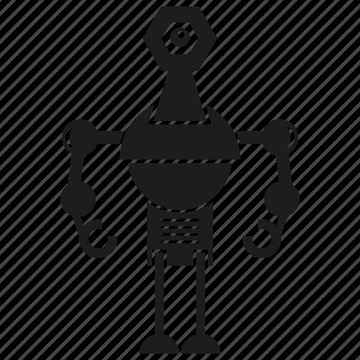 artificial intelligence, auto, automation, humanoid, machine, mechanical, robot icon