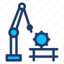 machine, programming, robot, technology icon
