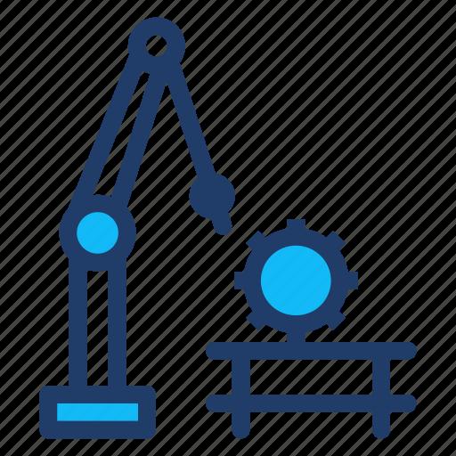 machine, programming, robot, technology icon