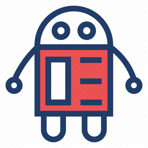 android, machine, robot, technology icon