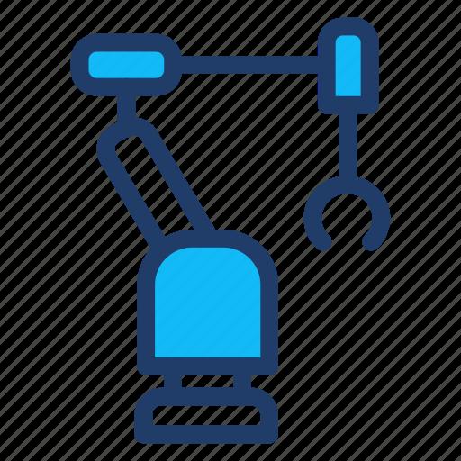 arm, machine, programming, robot icon