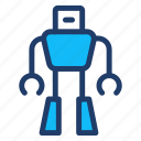 automatic, machine, robotics, science icon