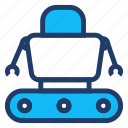 automatic, machine, robotics, technology icon