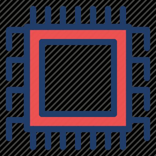 chip, electronic, hardware, memory icon