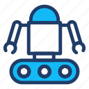 automatic, machine, programming, robot icon