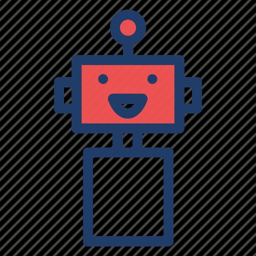 machine, programming, robot, science icon