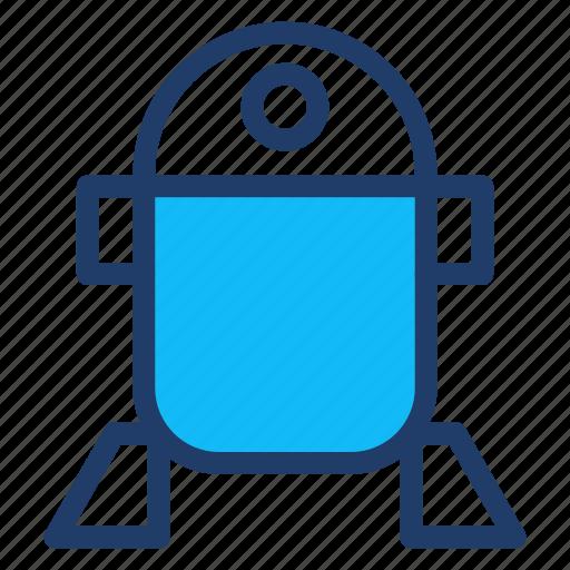 machine, robot, starwars, technology icon