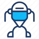 robot, science, starwars, technology icon