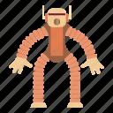 automatic, automaton, cartoon, cyborg, monkey, robot, toy