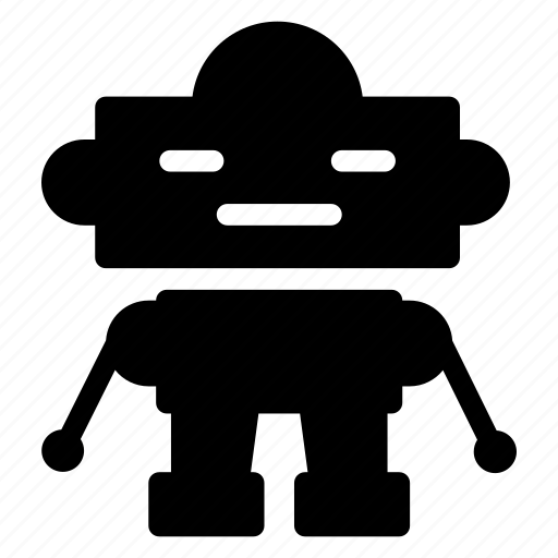 android, machine, programming, robotics icon