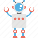 bionic man, industrial robot, mechanical robot, robot, robot character icon