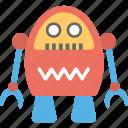 bionic man, industrial robot, mechanical robot, robot, scientific robot icon
