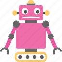 artificial intelligence, bionic man, industrial robot, mechanical man, robot icon