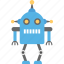 artificial intelligence, industrial robot, mechanical robot, robot, robotic technology icon