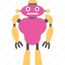artificial intelligence, bionic man, robot, robot discovery, robotic icon