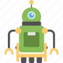 alien robot, artificial intelligence, bionic man, industrial robot, mechanical robot icon