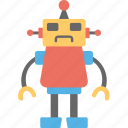 bionic man, industrial robot, mechanical robot, robot, robotic man icon