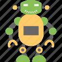 artificial intelligence, industrial robot, mechanical robot, robot, walking robot icon