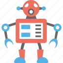 artificial intelligence, robot, robot technology, robotic, toy robot icon