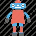artificial intelligence, cartoon robot, industrial robot, mechanical robot, robot icon