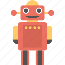 artificial intelligence, robot, robot technology, robotic, robotic toy icon