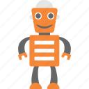 artificial intelligence, cartoon robot, industrial robot, mechanical robot, robot icon
