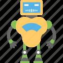bionic man, industrial robot, mechanical robot, robot, robot technology icon