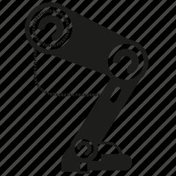 artificial intelligence, control, electronics, leg, robotics icon