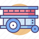 cart, ccarrier, development, development platform, platform icon