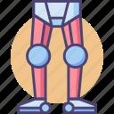 leg, robot legs, robotic legs icon