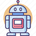 android, droid, machine, robot icon