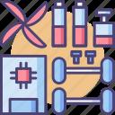 kit, robot, robot kit, toolkit icon