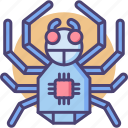 spider, spider bot, spiderbot icon