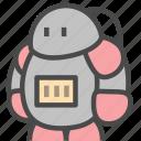 artificial intelligence, automation, robot, robotic, robotics icon
