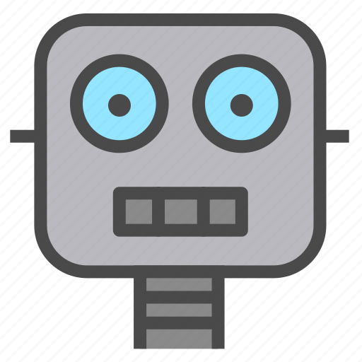 artificial intelligence, automation, robot icon