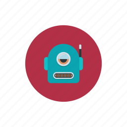automation, cyclops, machine, robot, technology icon