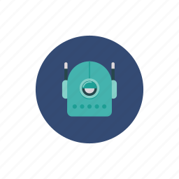 automation, cyclops, robot icon