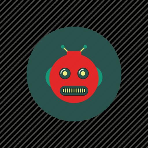 machine, robot, technology icon