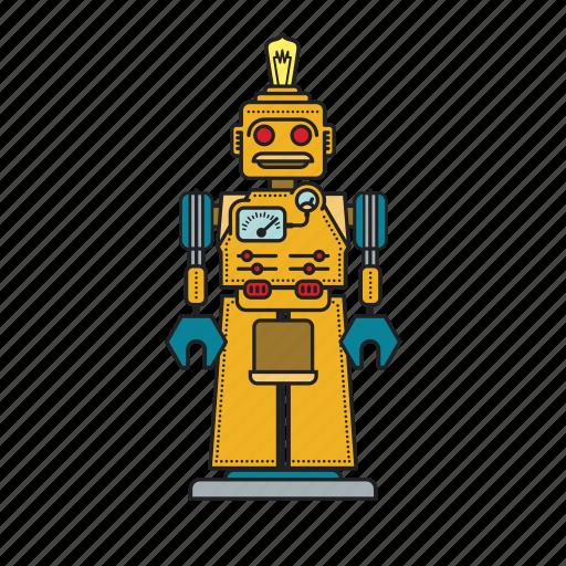 automation, autonomous, computer, machine, mechanical, robot, robotic icon