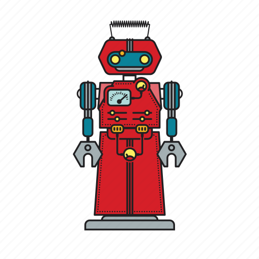 Automation, autonomous, computer, machine, mechanical, robot, robotic icon - Download on Iconfinder