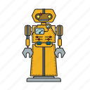automation, autonomous, computer, machine, mechanical, robot, robotic icon
