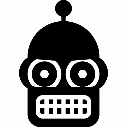 Solid, movie, robots, tv, bender, mechanical, film icon