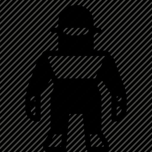Droid, film, klaatu, mechanical, movie, robots, solid icon - Download on Iconfinder