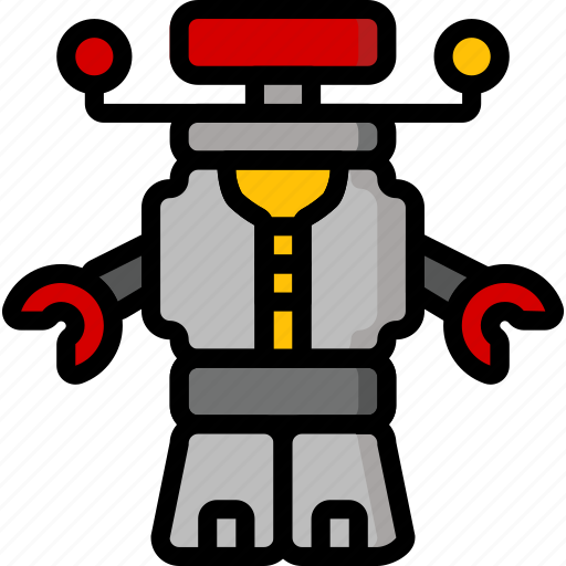 B9, color, droid, film, mechanical, robots, ultra icon - Download on Iconfinder