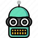 bender, color, film, movie, robots, tv, ultra icon